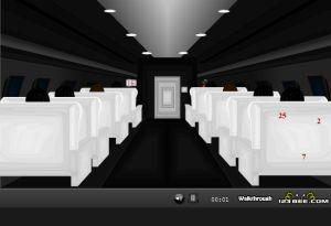 Выбираемся из самолета (flash игра)