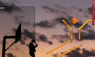 Баскетбол flash игра