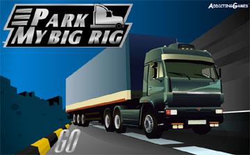 Припаркуй грузовик (flash игра)