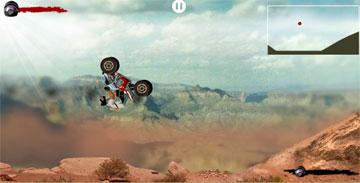 Гоняемся на мотоцикле (flash игра)