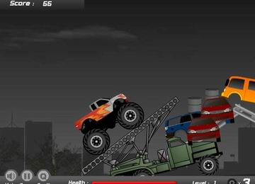 Demolish Truck 2 (flash игра)