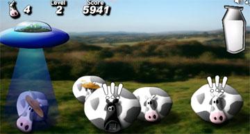 Доим коров (flash игра)