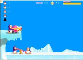 Летящий пингвин (flash игра)