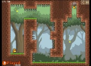 Gravity Duck (flash игра)