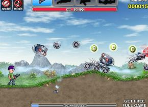 Gunrox Rush (flash игра)