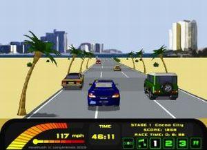 Погоняемся на авто (flash игра)