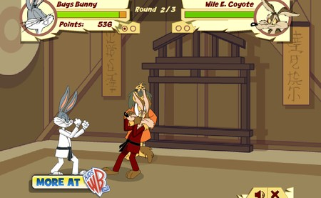 Hong Kong Phooey's Karate Challenge (flash игра)