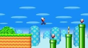 Супер Марио (flash игра)
