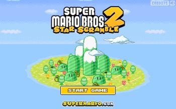 Super Mario Star Scramble 2 flash игра