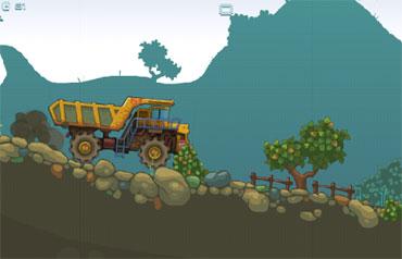 Mining Truck (flash игра)