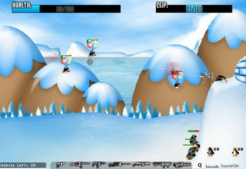 Penguin Massacre (flash игра)