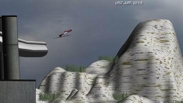 Ski jump dx (flash игра)