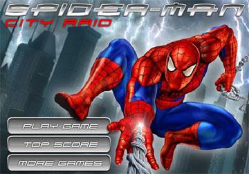 Человек-паук (flash игра)