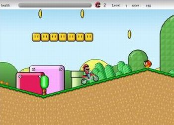 Super Mario Cross (flash игра)