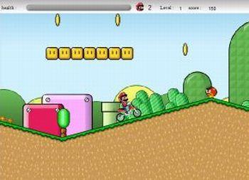 Super Mario Cross (flash игра)