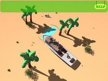 Побег от цунами flash игра