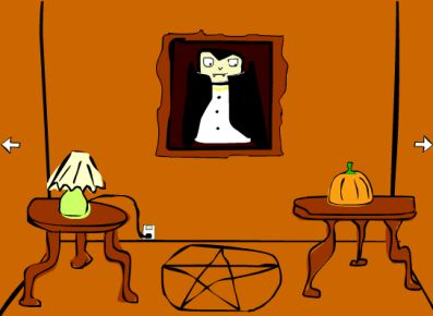 Комната с вампирами. Выбираемся! (flash игра)
