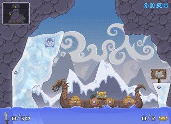 Освободи викингов (flash игра)