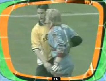 Лучшие курьезы в футболе (video)